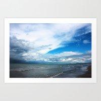 Seaside 1 Art Print