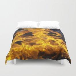 Fire Square Duvet Cover