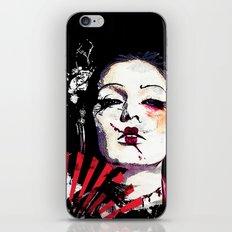 Japanese Creepy Geisha iPhone & iPod Skin