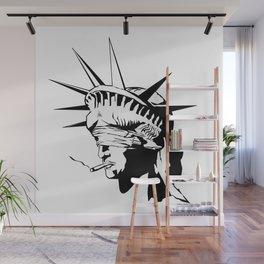 Smokin' liberty Wall Mural