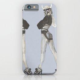 387. Pinup Gladiator Devil Girl iPhone Case