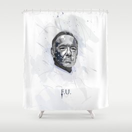 House of Cards - Frank Underwood Shower Curtain