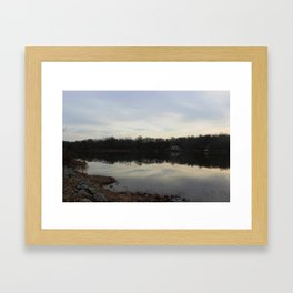 À deux Framed Art Print