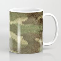 camo Mugs featuring Dirty Camo by Bruce Stanfield