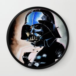Darth Girl Wall Clock