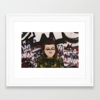 street fighter Framed Art Prints featuring Street fighter by Vince Beauchemin