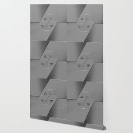Hexagonal way Wallpaper
