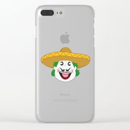 The Mexican Joker Clear iPhone Case