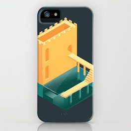 Logged Castle iPhone Case
