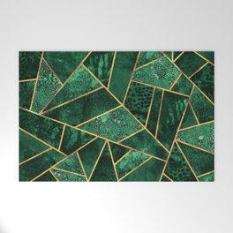 Deep Emerald Welcome Mat