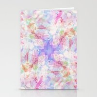 transparent Stationery Cards featuring TRANSPARENT VEILS by INA FineArt