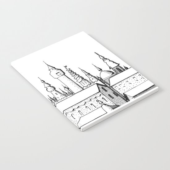 fabulous city Notebook