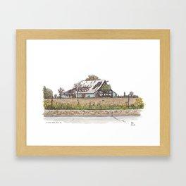 Covell Barn, Davis Framed Art Print