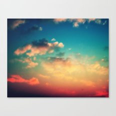 My Head is stuck in the Clouds Canvas Print