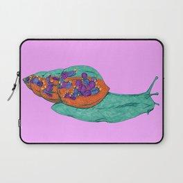 Snail Terrarium Laptop Sleeve