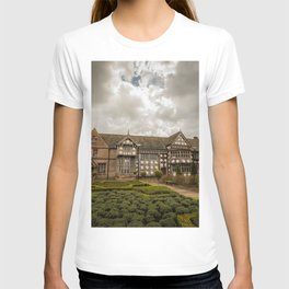 Cloudy Spring Day in an Old English Yard T-shirt