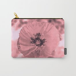 pink poppy Carry-All Pouch