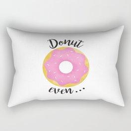 Donut Even... Rectangular Pillow