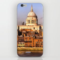London In Art iPhone Skin