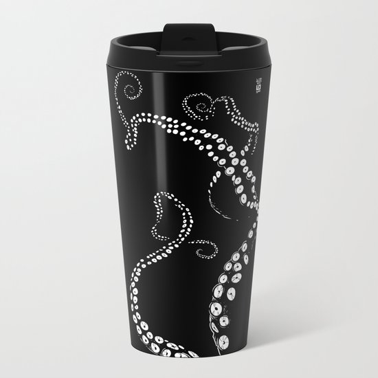 tentacles Metal Travel Mug
