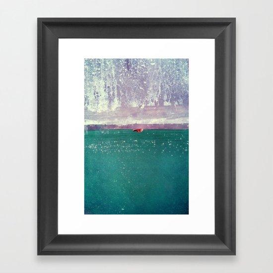 acqua Framed Art Print