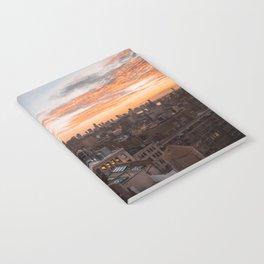 Autumn sunset Notebook