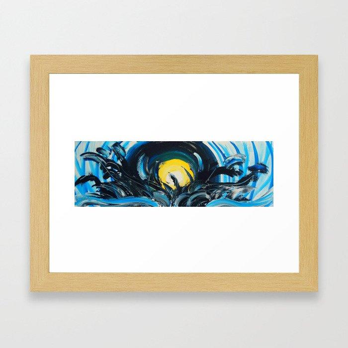 Drop of Sunshine Framed Art Print