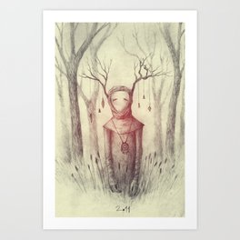 Forest Freak Art Print
