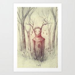 Forest Freak Art Print