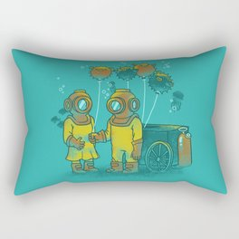 the BalloonFish Vendor Rectangular Pillow