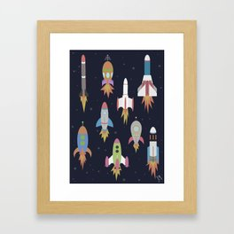 Rockets! Framed Art Print