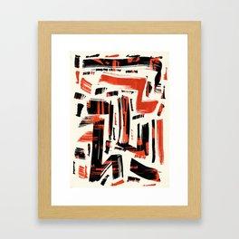 Pattern № 58 Framed Art Print