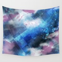 cosmic Wall Tapestries featuring Cosmic by Marcelo Coelho - MC STD