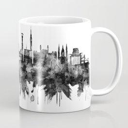 Budapest Hungary Skyline BW Coffee Mug