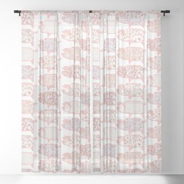 Pig Terrazzo Sheer Curtain
