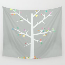 Graphic Tree  Wall Tapestry