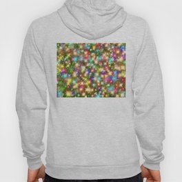 Star colorful christmas abstract Hoody