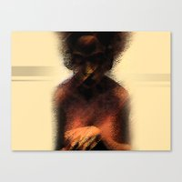 afro Canvas Prints featuring AFRO by Marian - Claudiu Bortan