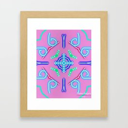 Colorfy Framed Art Print