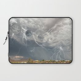 Arrival of the Monsoon Storm Generator Laptop Sleeve