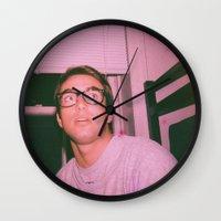 ashton irwin Wall Clocks featuring IRWIN by LAUNCH