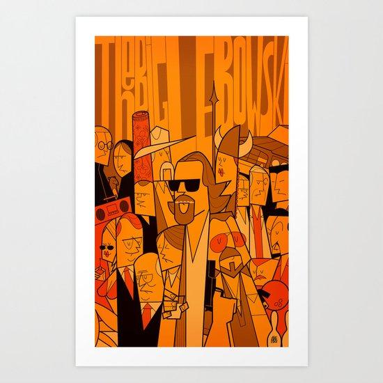 The Big Lebowski (variant aspect ratio) Art Print