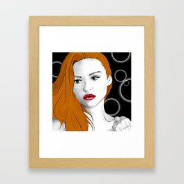 Lydia Martin Framed Art Print
