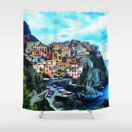 Manarola Shower Curtain