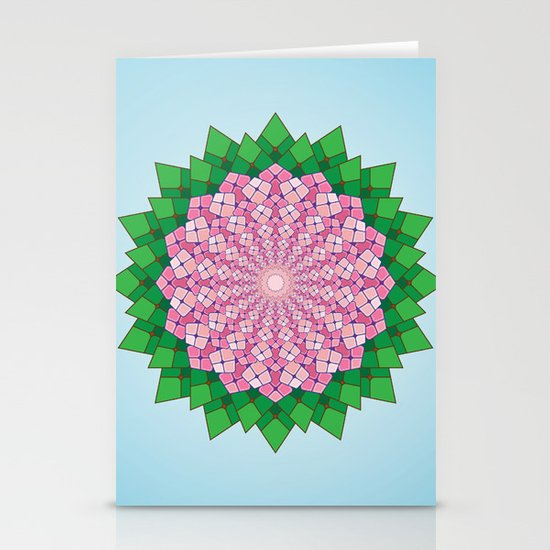 Spring Pink Stationery Cards
