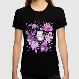 Final Fantasy Moogle Chocobo Tonberry Cactuar Bomb BatEye Gimme Cat Trick or treat T-shirt