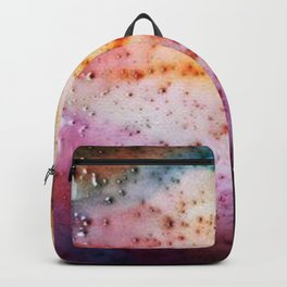 Liquid rainbow Backpack