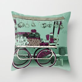 FRUIT STOP Throw Pillow