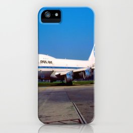 PanAm 747 Clipper iPhone Case