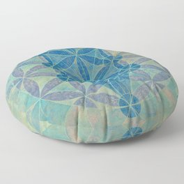 Flower of life Floor Pillow